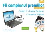 1 x laptop business Dell Latitude E6430, 1 x laptop business Lenovo T410 i5, 1 x voucher Cit Grup de 300 ron