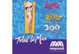 3 x voucher Mega Mall de 100 ron