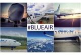 1 x bilet de avion pentru doua persoane la alegere pe orice ruta Blue Air