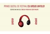 144.000 x Doze Ursus Premium 0.5L, 2000 x Casti Philips culoare Rosie