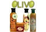 cosmetice bio oferite de Olivo ( 3 x set lotiune pentru corp si scrub pentru corp, ambele cu ulei de masline, 3 x set gel de dus cu miere, lotiune corp si sapun cu miere, toate cu ulei de masline )<br />