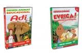 un DVD Adi in lumea animalelor şi un DVD Evrica! - descoperiri care ne-au schimbat viata, un DVD Adi in lumea animalelor, un DVD Evrica! - descoperiri care ne-au schimbat viata <br />