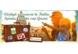 1 x Excursie in Italia, 1 x Excursie in Spania 1 x Excursie in Grecia, 1 x Excursie in Franta