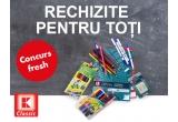 10 x pachet de rechizite K-Classic (carioci + rezerve caiet + creioane colorate + creioane HB + radiere)