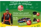 5 x drive test cu Alex Filip, 30 x ghizdanel cu produse Bio, 50 x tricou cu autograful lui Alex Filip