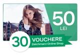 30 x voucher Deichmann de 50 ron