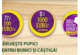 11 x 1000 euro, 77 x 100 euro