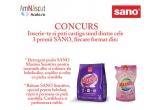 3 x set de produse Sano (detergent Sano 1.25 Kg + Balsam Sano 1 litru)