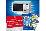 1 x cuptor cu microunde pentru fiecare magazin participant la promotie, 1 x televizor in retea, 1 x sistem Home Cinema in retea