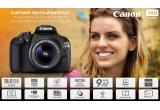1 x Aparat Foto DSLR Canon EOS 1200D cu Obiectiv 18-55mmm DC III