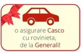 1 x asigurare Casco cu rovinieta de la Generali