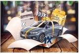 1 x masina Fiat Tipo 1.4 95CP, 1 x masina de spalat vase Beko, 100 x pachet Melegatti Nataledoro