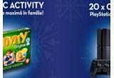 200 x joc Activity, 20 x consola de joc PS4 + Joc Fifa2017