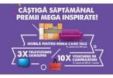 4 x voucher IKEA de 3.000 euro, 12 x televizor LED Samsung 4K Ultra HD 101 cm, 40 x voucher eMAG SuperMarket 500 de lei