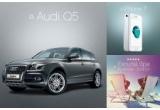 1 x masina Audi Q5, 2 x vacante de lux in Arosa - Elvetia + 980 euro bani de cheltuiala, 5 x iPhone 7