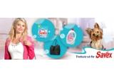 45 x Detergent pudra Savex 4 kg, 45 x Detergent lichid Savex 2.6L, 10 x Geanta Mango