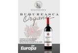 5 x sticle de vin din colectia Budureasca Organic ambalate in caseta de lemn personalizata