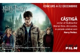 1 x tur al studiourilor Warner Bros + transport + cazare 2 nopti la hotel 4* + transfer hotel - aeroport si retur + tranfer acasa - aeroport si retur + Transfer hotel-studiourile Warner Bros si retur + 2 tricouri originale Harry Potter + 2 sepci originale Harry Potter + 2 seturi de DVD-uri continand colectia de 8 filme Harry Potter, 3 x tricou original Harry Potter + sapca originala Harry Potter + set de DVD-uri continand colectia de 8 filme Harry Potter, 1 x cutie magica de colectie Harry Potter