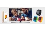 2 x Smart TV Samsung UE32J5500AWXXH, 6 x iPhone 7 32 GB Gold, 22 x Ceas Myki Watch, 22 x Smartwatch Tellur black
