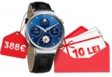 10 x smartwatch Huawei W1, instant: voucher Vodafone de 10 Lei
