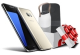 1 x smartphone Samsung Galaxy S7 + boxa + incarcator wireless