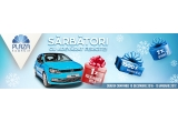 1 x masina Volkswagen Polo, 7 x iPhone 7, 1500 x voucher de 50 ron