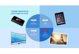 1 x iPhone 7, 1 x iPad Air 2, 1 x televizor Smart Samsung LED 4K Ultra HD, 9 x detergent de vase Pur pentru un an, 1 x city break la Paris