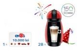 1 x voucher eMAG de 10.000 de lei, 28 x aparat Nescafe Dolce Gusto Picollo Red