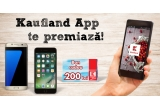 1 x iPhone 7 Plus, 1 x Samsung Galaxy S7 Edge, 10 x voucher Kaufland in valoare de 200 lei