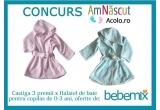 3 x Halatel baie de la Bebemix.ro pentru fetite sau baietei de la 0 la 36 luni
