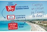 1 x circuit de 2 persoane pe Coasta de Azur