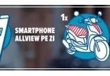 1 x scuter Piaggio, 52 x smartphone Allview P7 Pro Grey
