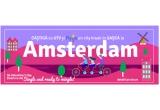 1 x city break in Amsterdam cu gasca