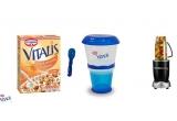 5 x Kit Vitalis alcatuit din Nutribullet + recipient To Go + 2 cutii Musli Vitalis
