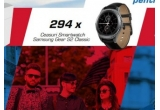7 x excursie pentru 2 persoane in Anglia + 10.240 lei bani de cheltuiala, 294 x ceas Smartwatch Samsung Gear 2 Classic, 5000 x card eMag de 50 lei, 45.000 x pachet de tigarete Benson & Hedges
