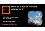 5 x camera video sport Go Pro Hero cu logo-ul Travel Channel