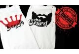 1 x 2 tricouri de cuplu pentru tine si perechea ta