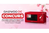 1 x cuptor cu microunde roșu Daewoo KOR-6S2BR