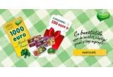 1 x 1.000 de euro, 5 x bonuri cadou de 100 euro, 70 pachet cu bunatați Agricola