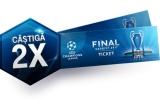 1 x doua bilete la finala UEFA Champions League din Cardiff pe 3 iunie + 2 nopti de cazare la un hotel din Cardiff