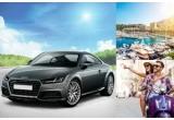 1 x masina Audi TT Coupe, 3 x vacante de lux la Monaco + 700 euro bani de cheltuiala, 3 x Scooter Primavera 50 4T