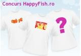 "<p> 3 x tricouri * de la<a href=""http://www.tu.ro/concurs-happyfish.html"" rel=""nofollow"" target=""_blank""> tu.ro.<br /> </a><br /> </p> <p> <br /> </p> <p> <a href=""http://www.tu.ro/concurs-happyfish.html"" rel=""nofollow"" target=""_blank""></a></p>"