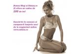 """<p> 100 de lei pentru cumparaturi la magazinul de lenjerie intima<a href=""""http://www.edona.ro/"""" rel=""""nofollow"""" target=""""_blank"""">Edona</a><br /> </p>"""