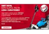 1 x Aspirator vertical Cavalier, 1 x Aspirator portabil Gator 10.8V, 1 x Aspirator Popster Splash Blue