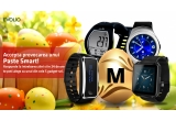 1 x smartwatch Evolio X-fit, 1 x smartwatch Evolio  X-Watch S, 1 x smartwatch Evolio X-Watch 3, 1 x bratara fitness smart Evolio X-Fit S, 1 x wearable devices SURPRIZA