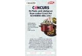 1 x Slow cooker Crock Pot SCV400RD-050 3.5L