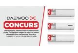 1 x aer conditionat Daewoo de 9000 BTU cu 3 Ani Garanție