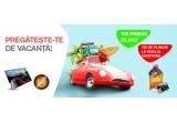 100 x card de carburant de 250 RON, 4000 x bidon de lichid de parbriz EVOX Summer Fresh la 2 litri