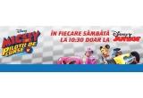 "1 x Tableta Samsung Galaxy Tab S2, 5 x Set de mini figurine ""Mickey si Pilotii de curse"", 5 x Termos ""Mickey si Pilotii de curse"""