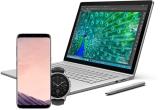 1 x laptop Microsoft Surface Book, 1 x smartphone Samsung Galaxy S8, 1 x smartwatch Vector Luna, 100 x licenta 1 an de zile Bitdefender 2018 Total Security 2018 pentru 10 device-uri (pentru cei mai activi beta testers)